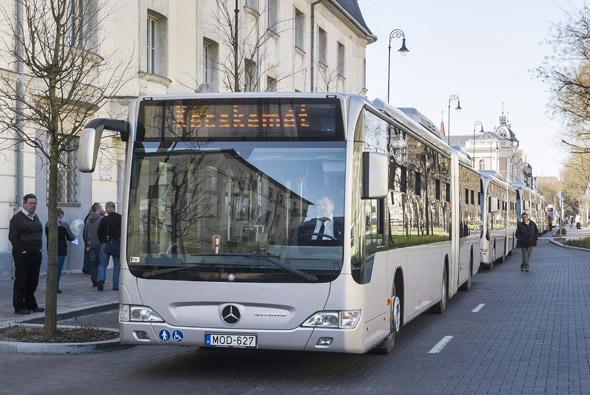 Mercedes-Benz Citaro BlueTec Hybrid buszok Kecskeméten